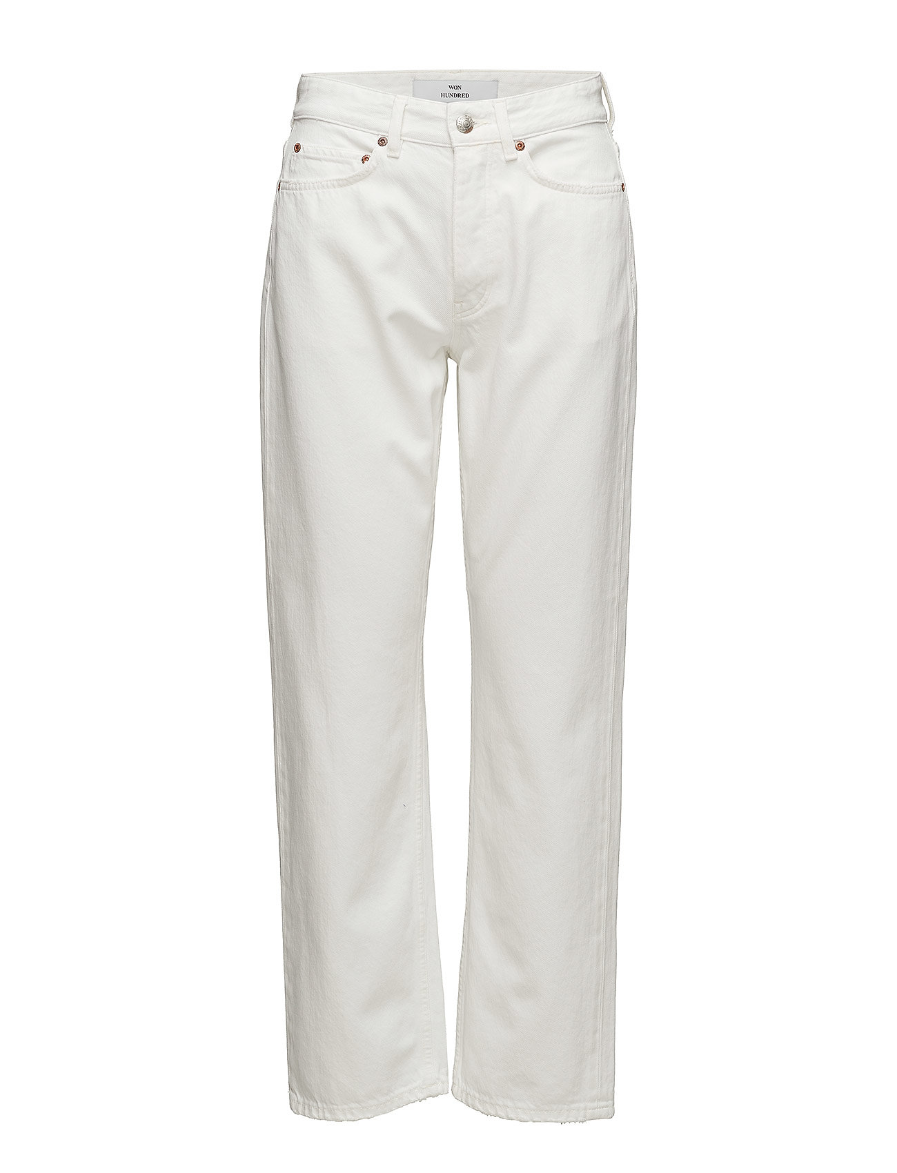 Won Hundred PEARL Relaxed fit jeans tinted white